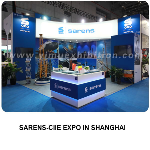CIIE CHINA STAND CONTRACTOR-SARENS