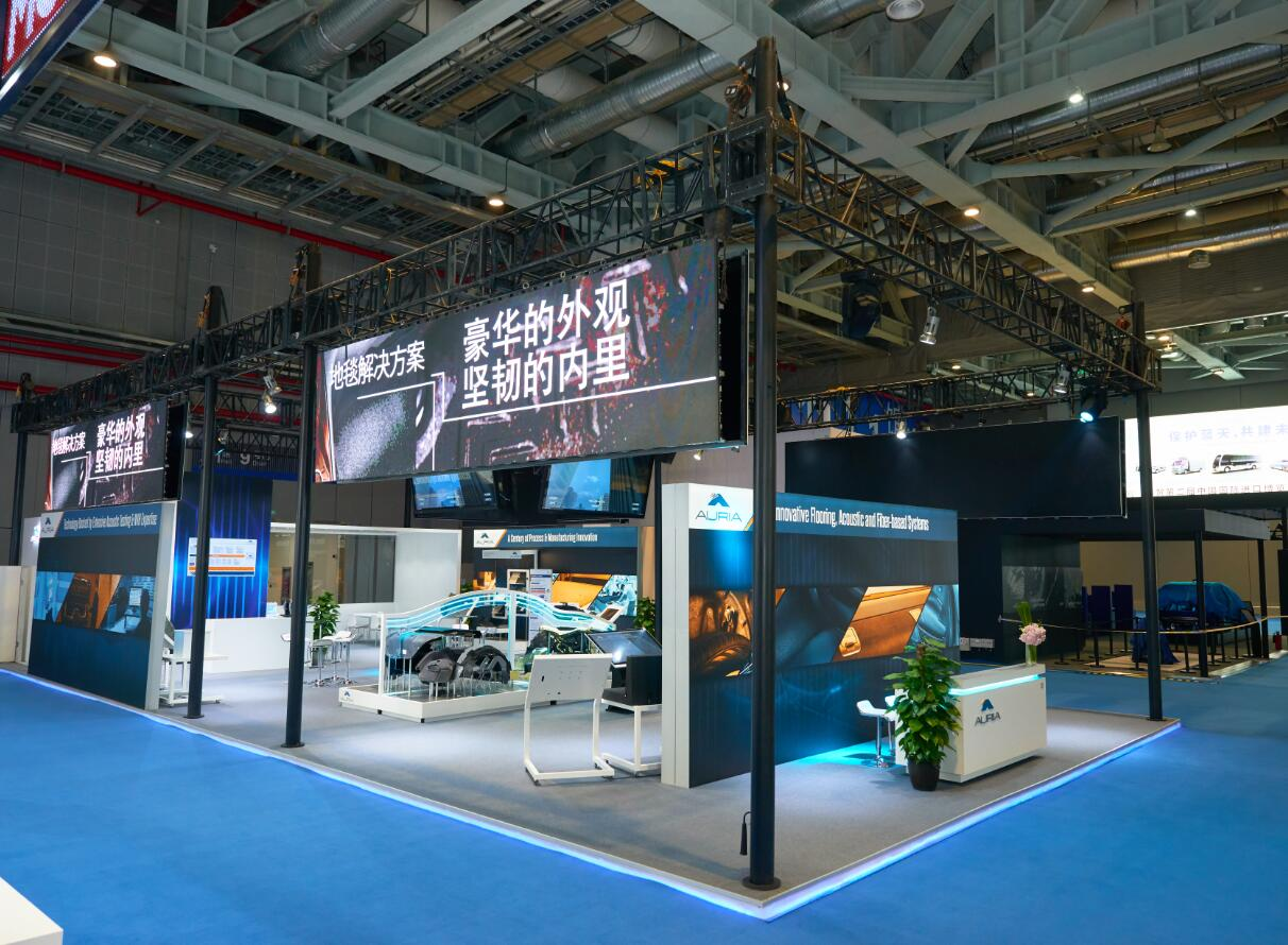 CIIE booth design and stand builder