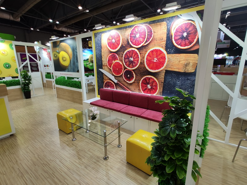 Hongkong stand builder for Asia Fruit Logistica