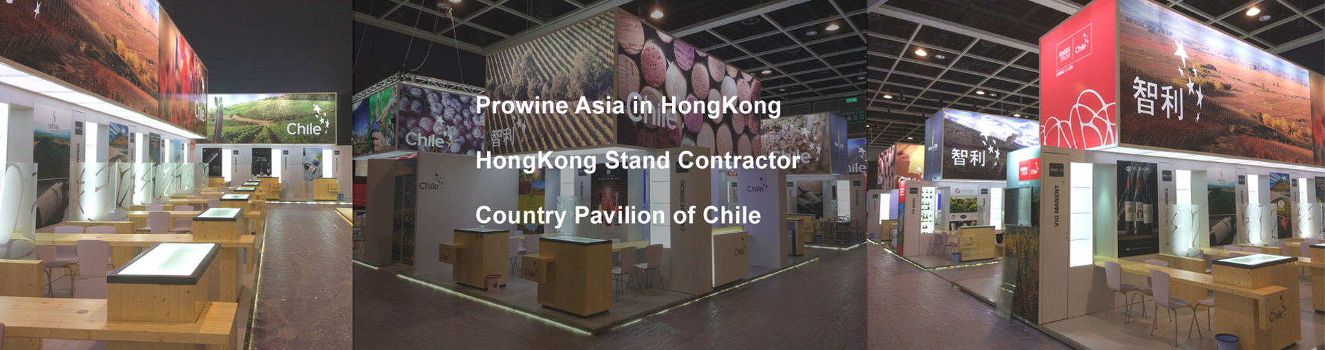 Hongkong booth construction/vinexpo hongkong