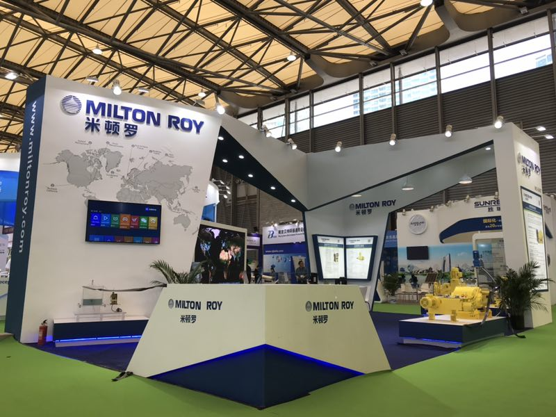 Trade show stand design and construction for IE expo China 2020
