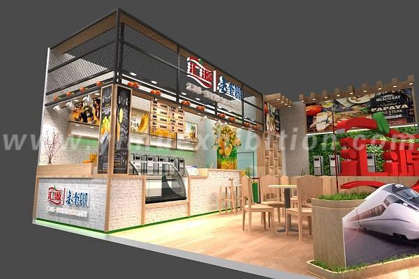 Bakery China Trade Show Stand Design