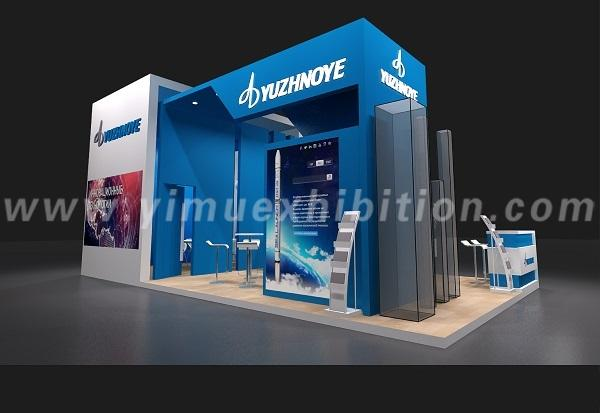Airshow China trade show stand design
