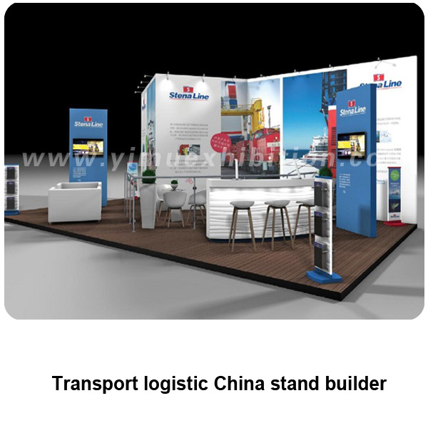 Transport logistic China trade show stand builder
